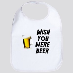 Wish You Were Beer Bib
