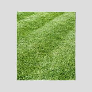 Grass lawn Throw Blanket