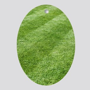 Grass lawn Oval Ornament