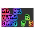 LL YR VWLS sticker
