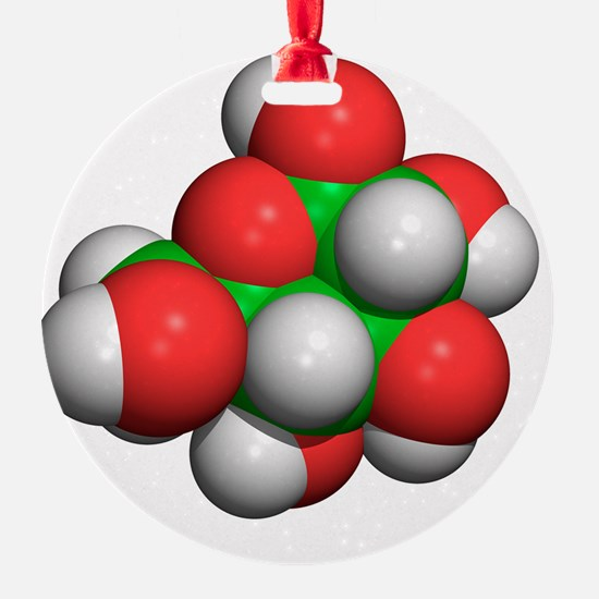 Glucose molecule Ornament
