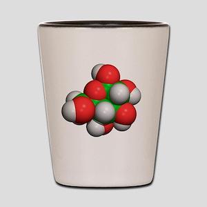 Glucose molecule Shot Glass