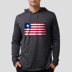 Flag of Liberia Long Sleeve T-Shirt