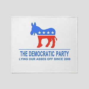 Lying Dems Throw Blanket