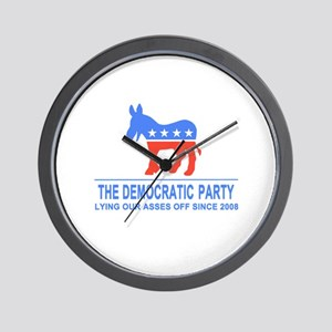 Lying Dems Wall Clock