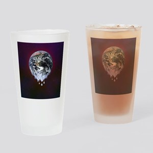 Global warming, conceptual image Drinking Glass