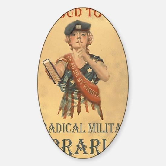 rmlposter Sticker (Oval)