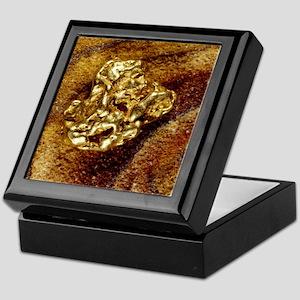 Gold nugget Keepsake Box