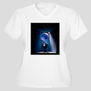 Global environmen Women's Plus Size V-Neck T-Shirt
