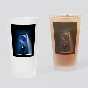 Global environment, conceptual artw Drinking Glass