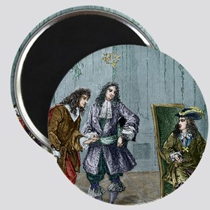 Giovanni Cassini and King Louis XIV Magnet