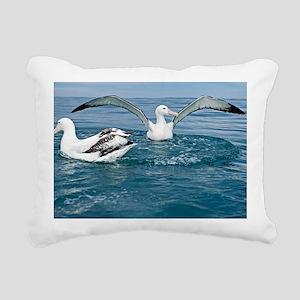 Gibson's wandering albat Rectangular Canvas Pillow