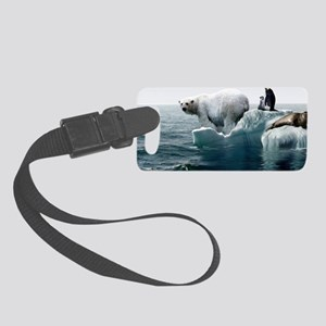 Global warming, conceptual image Small Luggage Tag