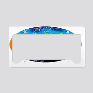 Global temperatures, May 2009 License Plate Holder