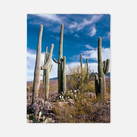 Giant Cactus (Carnegiea gigantea) Twin Duvet