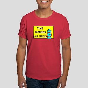 TIME WOUNDS HEELS Dark T-Shirt