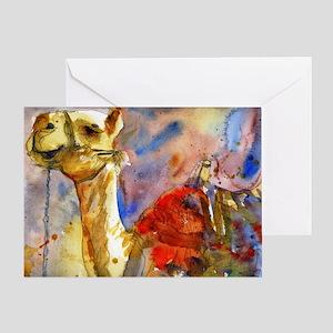 Israeli Camel Greeting Card