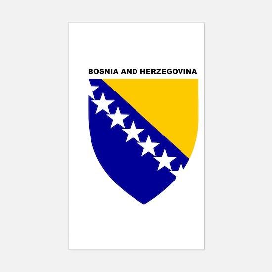 Bosnia_and_Herzegovina Rectangle Decal