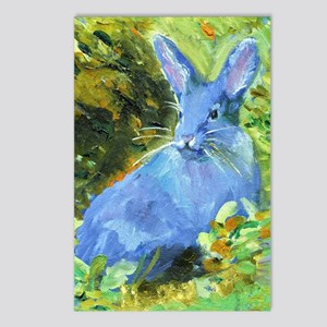 Blue Bunny Postcards (Package of 8)