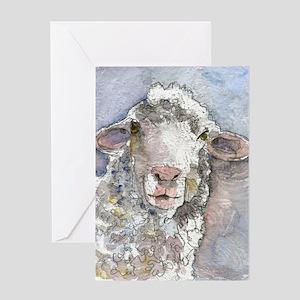 Shorn This Way, Sheep Greeting Card