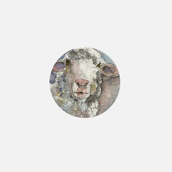 Shorn This Way, Sheep Mini Button