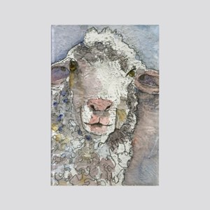 Shorn This Way, Sheep Rectangle Magnet