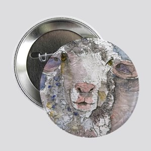 "Shorn This Way, Sheep 2.25"" Button"