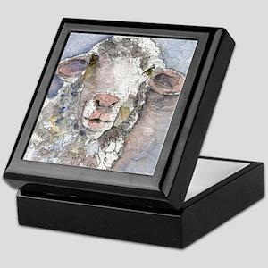 Shorn This Way, Sheep Keepsake Box