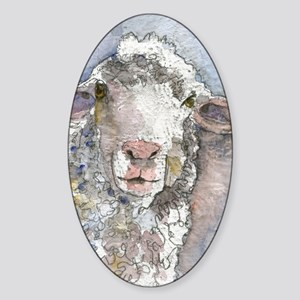 Shorn This Way, Sheep Sticker (Oval)