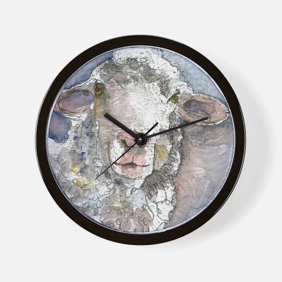 Shorn This Way, Sheep Wall Clock