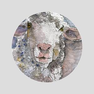 "Shorn This Way, Sheep 3.5"" Button"