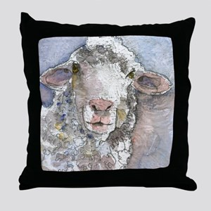 Shorn This Way, Sheep Throw Pillow