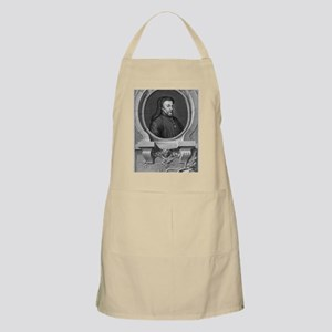 Geoffrey Chaucer, English author and poet Apron