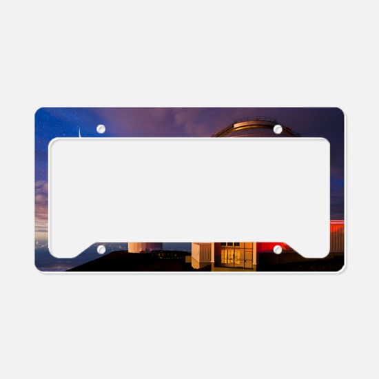 Gemini North telescope, Hawai License Plate Holder