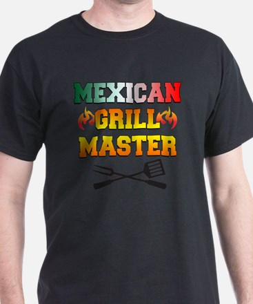Mexican Grill Master Apron T-Shirt