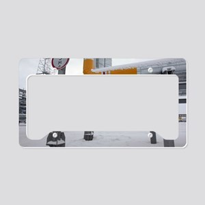 Gas condensate processing pla License Plate Holder