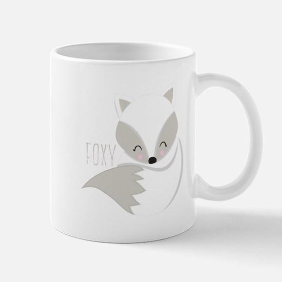 Winter Foxy Mugs