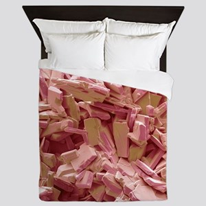 Gallstone crystals, SEM Queen Duvet