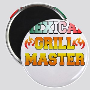 Mexican Grill Master Apron Magnet