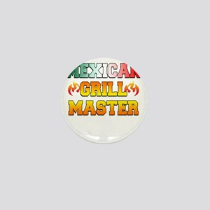 Mexican Grill Master Apron Mini Button