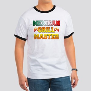Mexican Grill Master Apron Ringer T