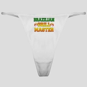 Brazilian Grill Master Dark Apron Classic Thong