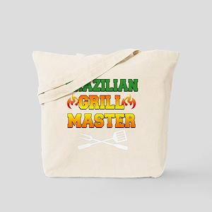 Brazilian Grill Master Dark Apron Tote Bag