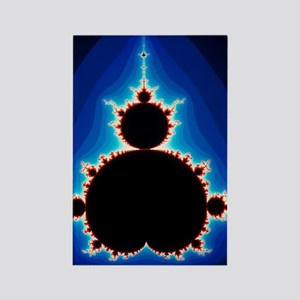 Fractal geometry showing Mandelbr Rectangle Magnet