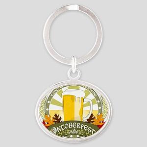 Oktoberfest 2012 Oval Keychain