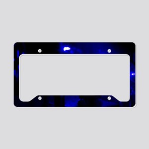 Fluorescence lifetime imaging License Plate Holder