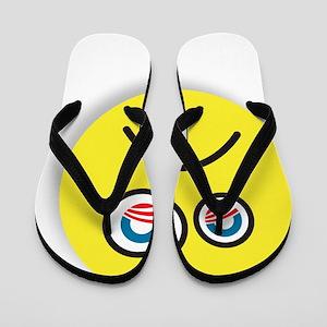 Obummer! logo Flip Flops