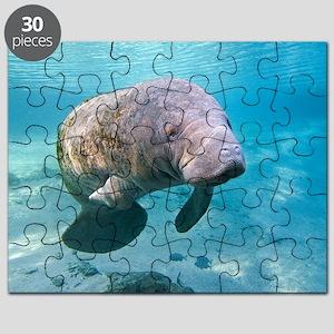 florida manatee puzzles cafepress