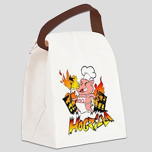 Hogzilla Canvas Lunch Bag