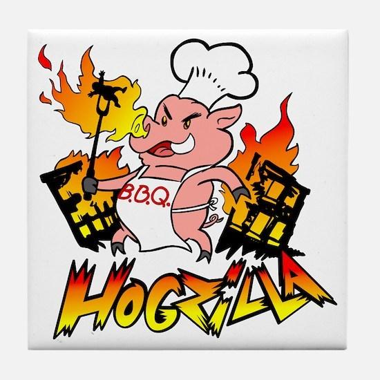 Hogzilla Tile Coaster
